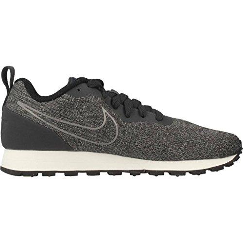 Nike Damen MD Runner 2 Eng Mesh Laufschuhe Grau (Anthracite/Anthracite-Black-Sail 001)