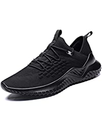 Velukin Zapatillas Hombres Deporte Running Zapatos para Correr Gimnasio Sneakers Ligero Transpirable