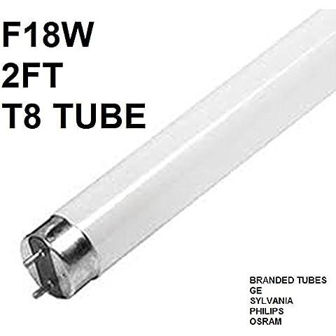 18w 0,61 Meters-Lampadina fluorescente a tubo t8 15,000hrs, philips/ge/sylvania g13,
