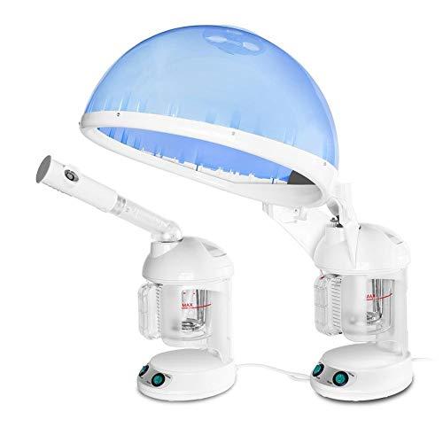 in 1 Table Desk Hair Steamer Gesichtsdampfer Gesichtsbefeuchter Hot Mist Gesichts-Spray Sauna Für Salonbeautybarber SPA Skin Care ()