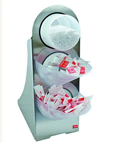 Portionsspender Zucker - Kaffesahne - Rührstäbchen - Spender
