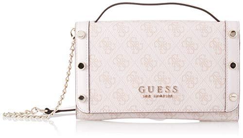 Guess - Florence, Bolsos de mano Mujer, Rosa (Rose/Ros), 21.5x13.5x4 c