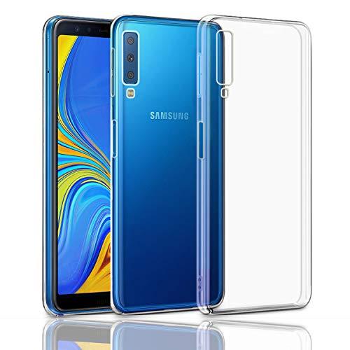 Custodia Samsung Galaxy A7 2018 Case,Superyong Samsung Galaxy A7 2018 Cover Slim Clear Soft TPU per telefono Samsung Galaxy A7 2018 A750 (Trasparente)
