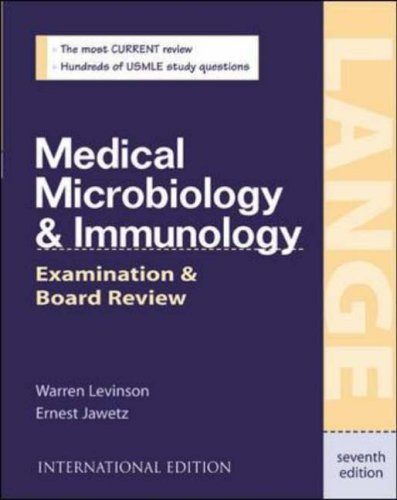 Medical Microbiology and Immunology: International Student Edition: Examination and Board Review (Lange Medical Books) by Warren E. Levinson (2002-08-01)