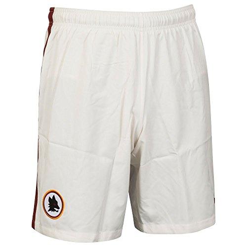 Nike ROMA M H/A/3 STADIUM SHORT - Kurze Hosen AS Roma Weiß - L - Herren (Männer Fußball Hose Von Nike)