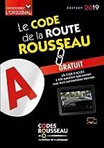 Code Rousseau de la route B 2019 de Codes Rousseau