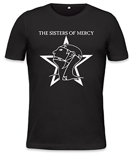 The World's End The Sisters Of Mercy Mens T-shirt Medium (Goth-band-t-shirts)