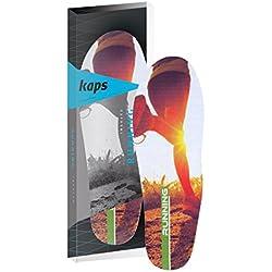 Plantillas de calzado de rendimiento profesional para correr, confort y protección contra lesiones de Kaps, color multicolor, talla 42 2/3 EU