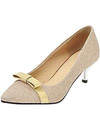 separation shoes 0755f 74dcb Amazon.it: scarpe decolte - Oro / Scarpe: Scarpe e borse