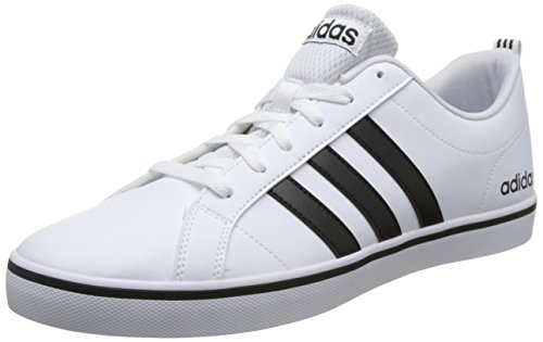 Adidas Vs Pace, Zapatillas para Hombre, Blanco (Footwear White/Core Black/Blue 0), 44 2/3 EU
