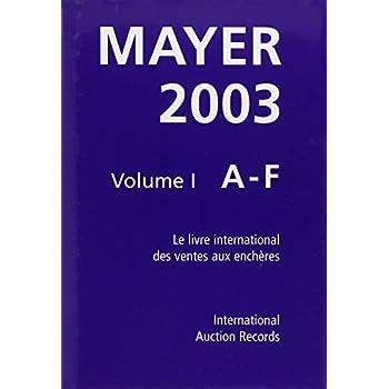 Guide Mayer 2003 coffret 3 volumes
