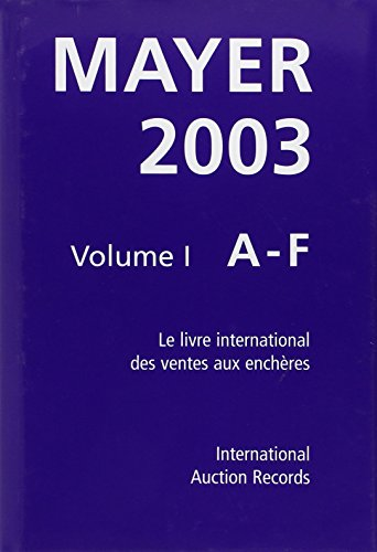 Guide Mayer 2003 coffret 3 volumes