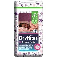 Dry Nites Girl 4-7 years, 3er Pack (3 x 10 Windeln)