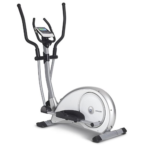 Horizon Fitness Crosstrainer Syros Pro, Weiß / Silber
