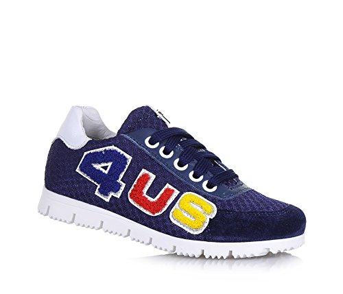 4us-cesare-paciotti-chaussure-a-lacets-bleue-en-suede-et-tissu-avec-applications-en-cuir-logo-colore