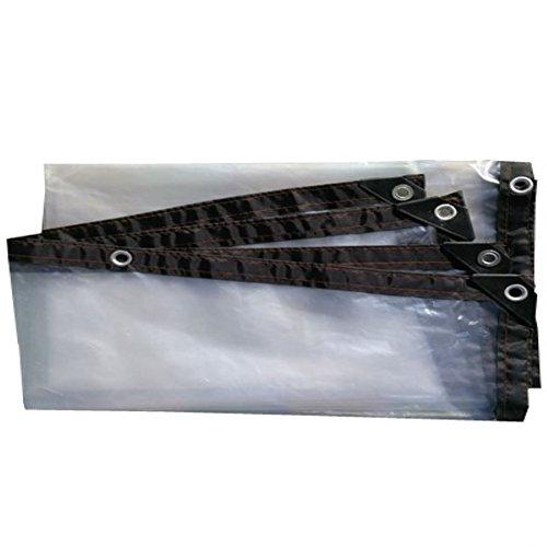 Transparente Kante perforierte Wasserdichte und Wasserdichte Plastikfolie (größe : 4 x 6m)