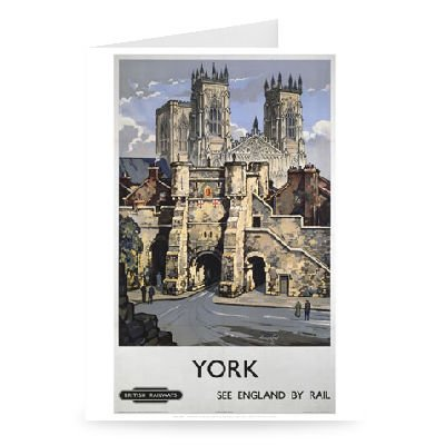 york-see-england-by-rail-greeting-card-pack-of-2