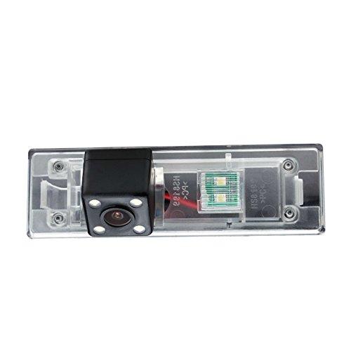 Misayaee Caméra de Recul Voiture en Couleur Kit Caméra vue arrière de voiture Imperméable Vision Nocturne pour BMW 1 Series M1 E81 E87 F20 F21 116i 118i 120i 135i 640i Mini Cooper R55 R57 R60 R61