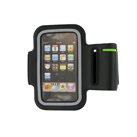 Pro-Tec Athlete Black Armband Pouch - Compatible with iPhone 3 / 3GS / 4 / 4S iPod Touch 4G