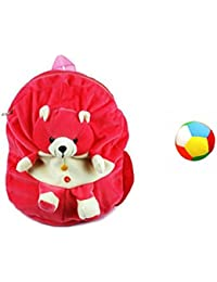 Jrp Mart Pink Bear Soft Toy Bag With Little Ball