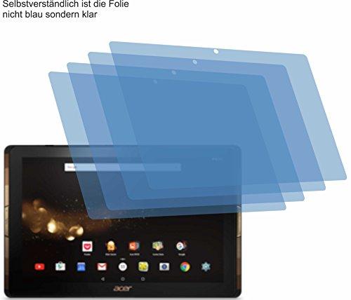 4x ANTIREFLEX matt Schutzfolie für Acer Iconia Tab 10 A3-A40 Displayschutzfolie Bildschirmschutzfolie Schutzhülle Displayschutz Displayfolie Folie