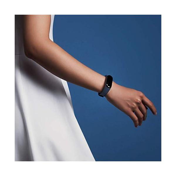 Xiaomi Mi Band 3 - Pulsera de actividad, Pantalla 0.78'' full OLED táctil, Notificaciones, Sumergible 50m, Mide calorías, pasos y sueño, Negro 9