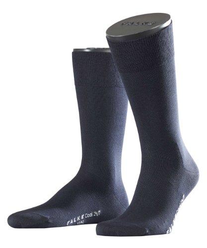 FALKE Herren Socken Cool 24/7, Blau (Dark Navy), 41/42