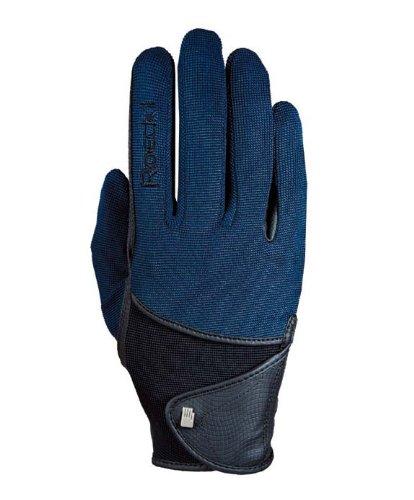 Roeckl Sports Handschuh Madison, Unisex Reithandschuh, Marine 6,5