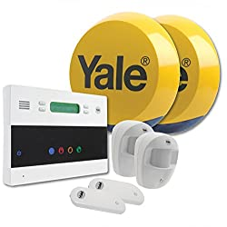 Yale EF-KIT2 Easy Fit Telecommunication Alarm Kit, White, 25.5 x 26.5 x 26.5 cm