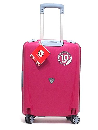 Roncato trolley cabina, Light 500714-11, trolley rigido cabina in polipropilene Kg 2.9, colore magenta, chiusura TSA