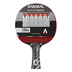 KTT 500 Table Tennis Bat Review 2018 from Karakal