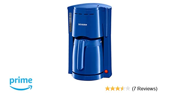 SEVERIN KA 9235 Filter-Kaffeemaschine Blau 2 Isolierkannen 800 Watt
