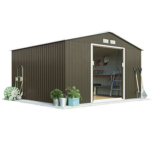 9ft-x-10ft-metal-apex-roof-outdoor-garden-storage-shed-by-waltons-grey