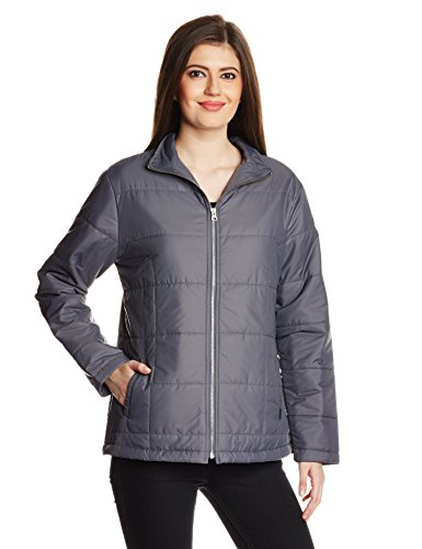Wrangler Women's Cotton Jacket (WRJK0852_Grey_Large/FS)  available at amazon for Rs.1647