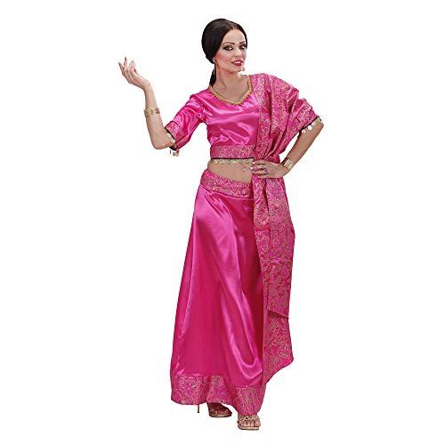 Widmann 73832 - Bollywood Tänzerin Kostüm für Damen, Größe M (Ideen Für Indische Kostüm)