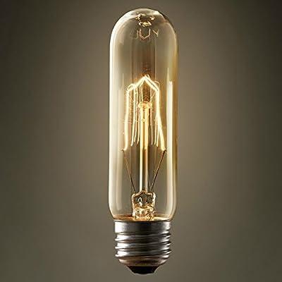 PureLumeTM Edison T10 Vintage Lampe (40W, E27, 220-240V) Ideal für Nostalgie und Antik Beleuchtung von PureLume auf Lampenhans.de