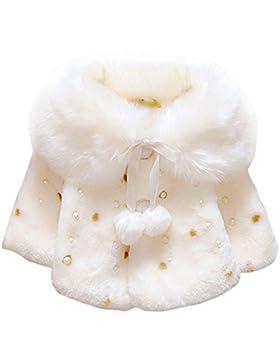 Neonato Cappotto Invernale, AnKoee Bambini del Bambino Autunno Bello Manica Lunga abbigliamento Abiti Cappotto...