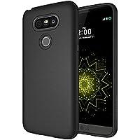 Custodia LG G5, Diztronic Serie TPU Opaca Case Cover per LG G5 - Nero