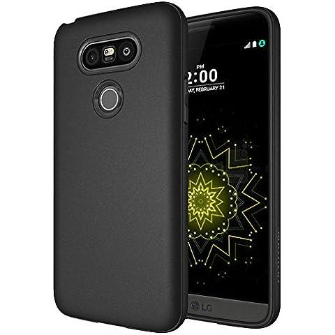 LG G5 Case - Diztronic Full Matte TPU Series - Slim-Fit Soft-Touch Thin & Flexible Phone Case for LG G5 - Full Matte