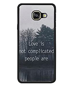 FUSON Designer Back Case Cover for Samsung Galaxy A3 (6) 2016 :: Samsung Galaxy A3 2016 Duos :: Samsung Galaxy A3 2016 A310F A310M A310Y :: Samsung Galaxy A3 A310 2016 Edition (Good Idea Great quote Success Quote)