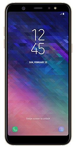 Samsung Galaxy A6 Plus Smartphone, 15,36 cm (6 Zoll), 32 GB Interner Speicher und 3 GB RAM, gold - Deutsche Version