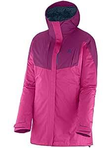 Salomon - Women's Cyclone Trekking Jacket - Veste hardshell - taille XS, rose/pourpre
