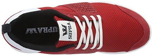 Supra Herren Scissor Low-Top Rot (RED / BLACK - WHITE 604)