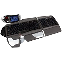 Mad Catz S.T.R.I.K.E. 7 Gaming Tastatur (Deutsch, Touchscreen, USB) Schwarz