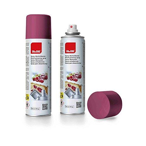 IBILI 746300 Spray Démoulant, Acier, Blanc, 5 x 5 x 20 cm