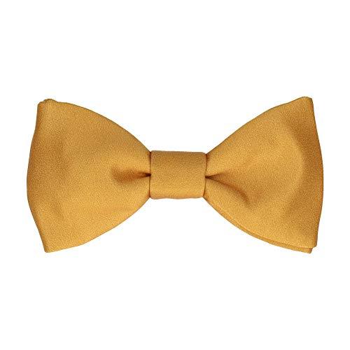 Mrs Bow Tie Classic Fliege, Selbstbinde Fliege - Alt Gold Gold Pretied Bow Tie