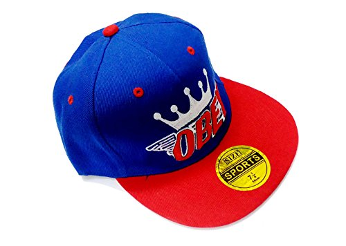 Zacharias Men's Hip Hop Cap (royal blue)  available at amazon for Rs.199