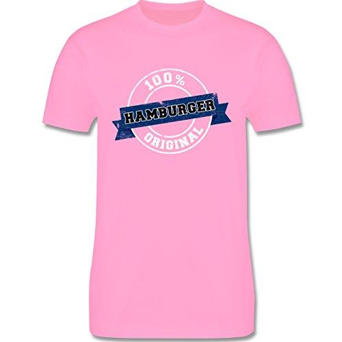 Länder - Hamburger Original - Herren Premium T-Shirt Rosa