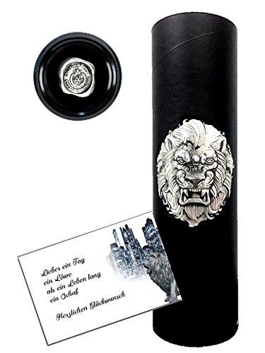 Das-Sekt-Geschenkset-LWE-streng-limitertexklusiver-Cuve-mit-silbernem-Lwen-in-3D-Das-Luxus-Geschenk-fr-Mnner-Freunde-Alternative-zu-Champagner-zum-Geburtstag-Vatertag