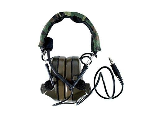 Preisvergleich Produktbild Z-Tactical ZCOMTAC 2 Headset mit aktivem Gehörschutz & 2 Stereo Mikrofonen [Z041]